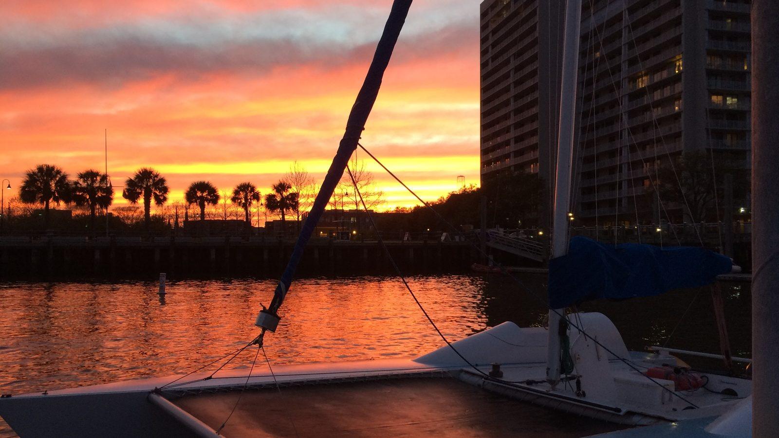Sunset Harbor Sail Slider 002