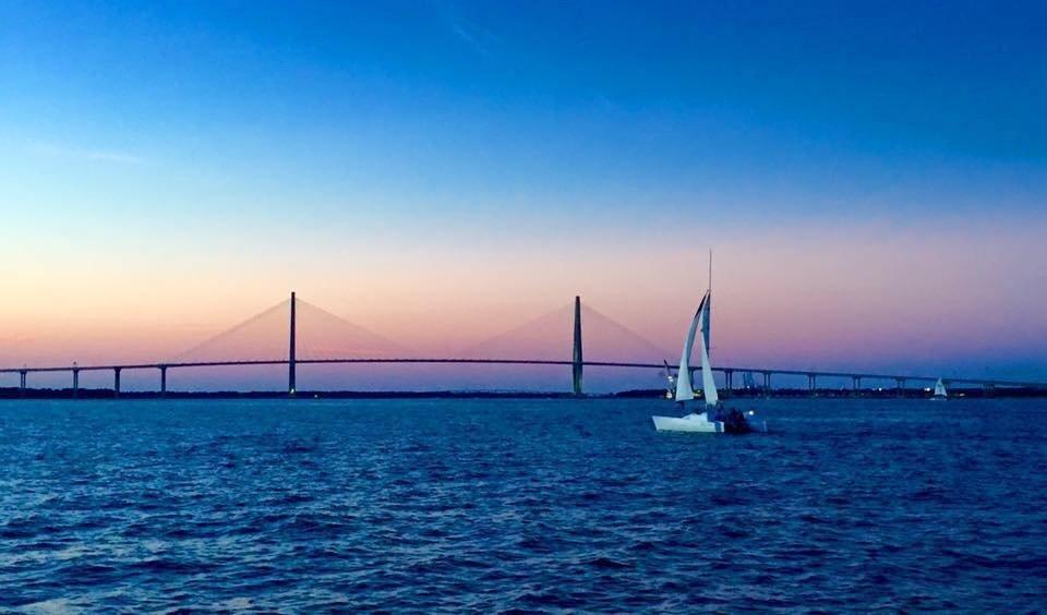 Sunset Harbor Sail
